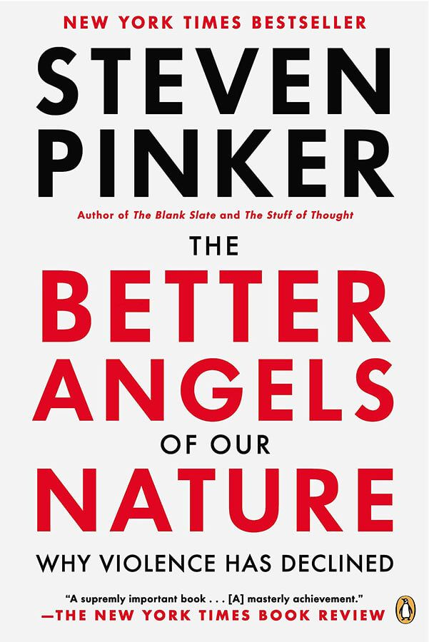 Cover for Steven Pinker's The Better Angels of Our Nature